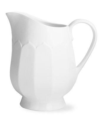 Flea Market Large Fluted Pitcher