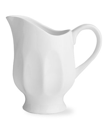 Flea Market Medium Fluted Pitcher