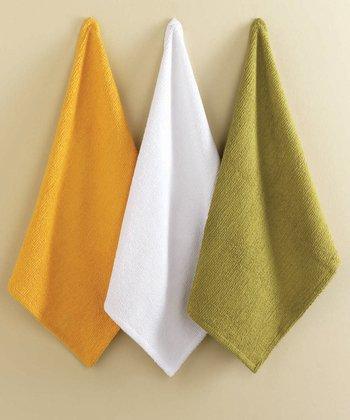 Citrus Bar Mop Dish Towel Set