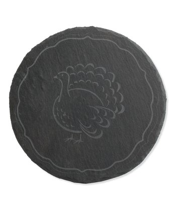 Charcoal Turkey Etched Trivet