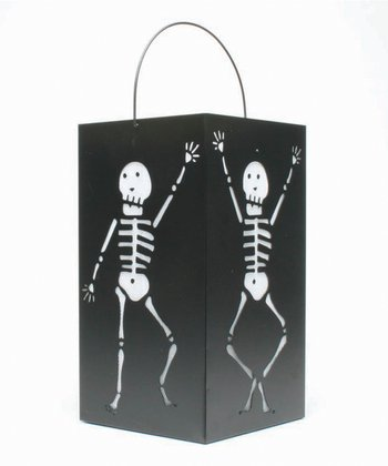 Dancing Skeleton Lantern