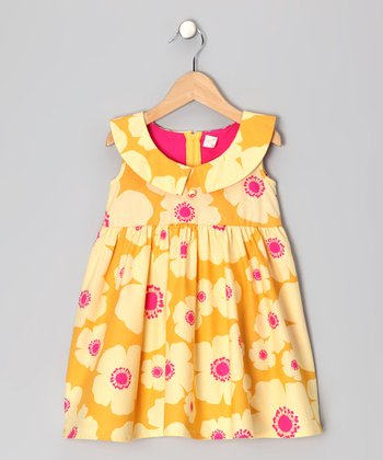 Yellow Elina Dress - Girls