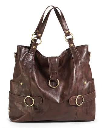 Cocoa Brown Hannah Diaper Bag