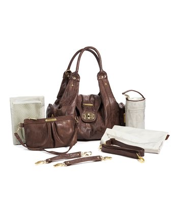 Cocoa Brown Annette Diaper Bag