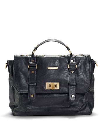 Black Casey Diaper Bag