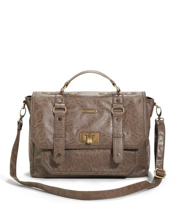 Taupe Casey Diaper Bag