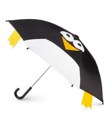 Black Penguin Pop-Up Umbrella