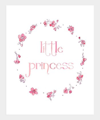 trafalgar's square Little Princess Print