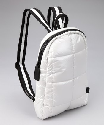 Pearl White Small backPAX Bag