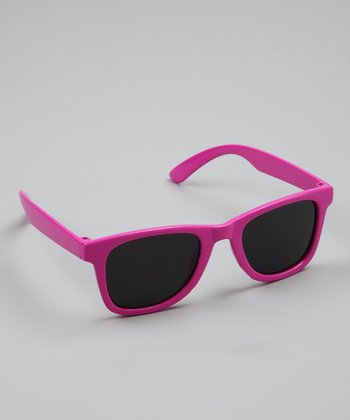 Dark Pink Sunglasses