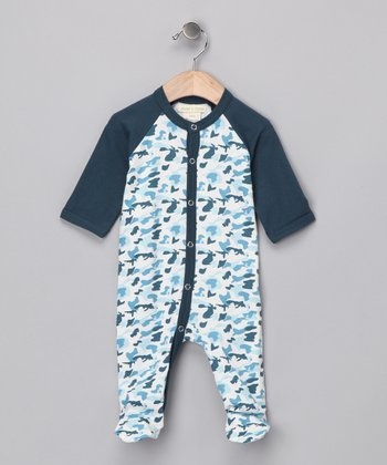 Camo Organic Footie - Infant