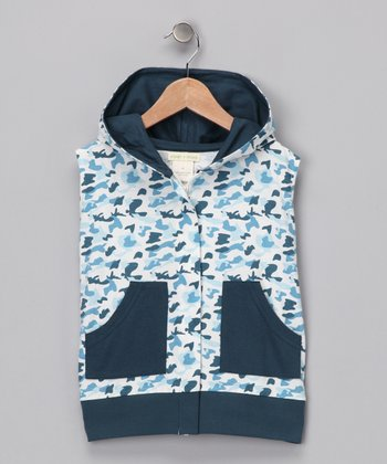 Camo Organic Zip-Up Vest - Infant, Toddler & Boys