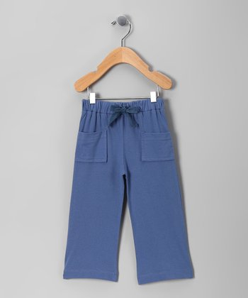 Blue Organic Pants - Infant, Toddler & Boys