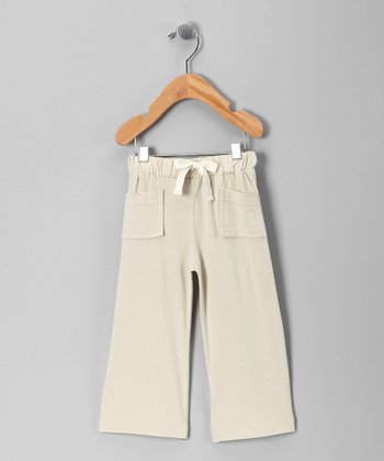 Taupe Organic Pants - Infant, Toddler & Boys