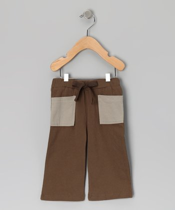 Caper Pocket Organic Pants - Infant