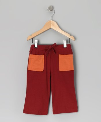 Russet Pocket Organic Pants - Infant