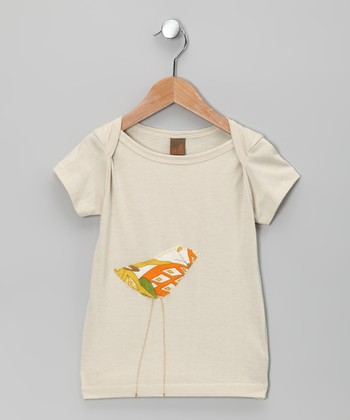 Natural Citrus Bird Tee