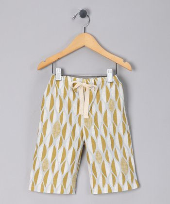Green Leaf Linen Pants