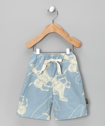 Light Blue Cowboy Pants