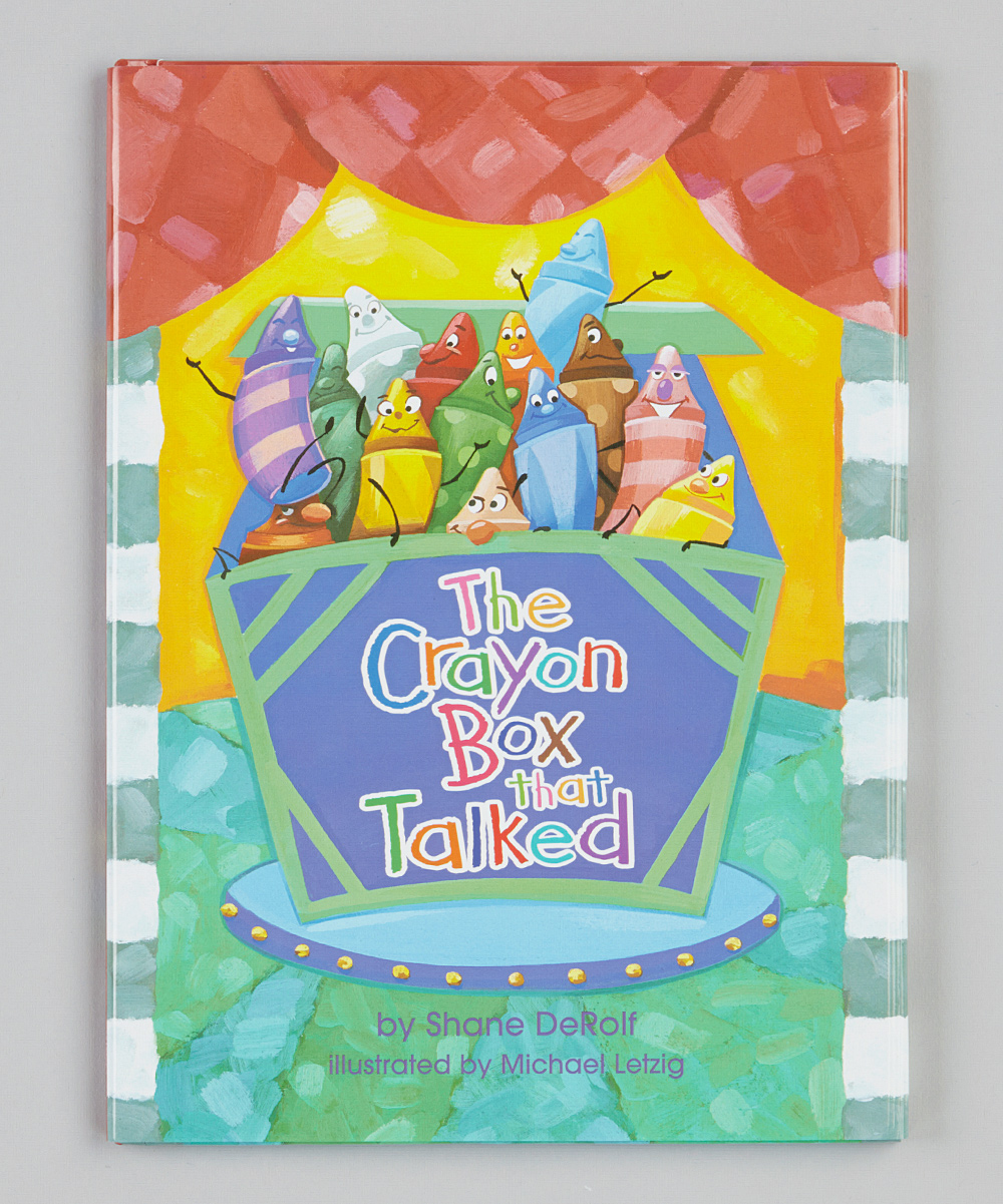 Random house the crayon box that talked hardcover zulily