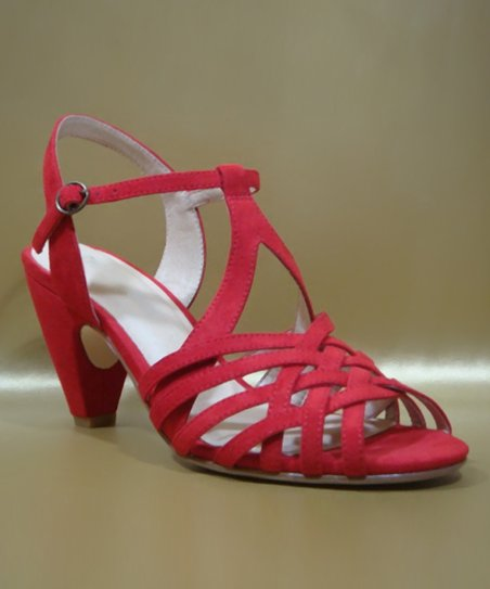 Red Noreen Sandal