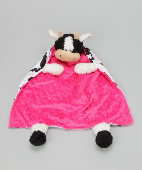 Pink Cow Blanket Critter