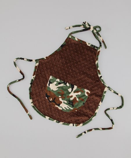 Brown Camo Apron