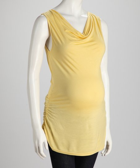 Corn Side-Tie Maternity Tank