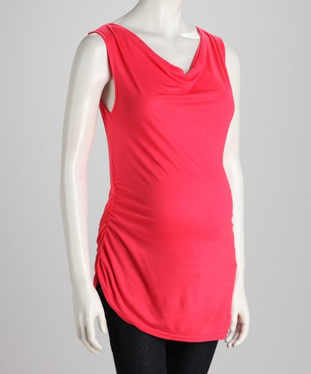 Rouge Side-Tie Maternity Tank