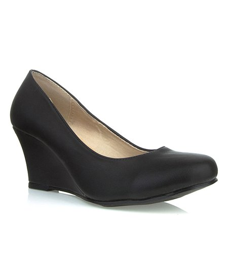 Black Rachel Wedge