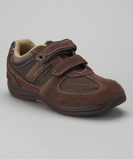 swissies Mocha & Tan Derek Sneaker - Toddler & Boys