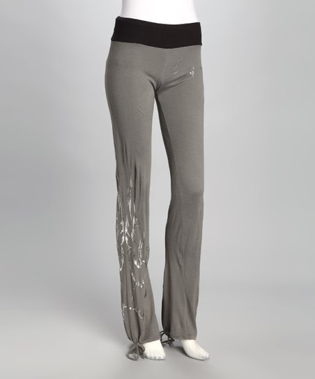 Gray Swan Wool-Blend Sweatpants