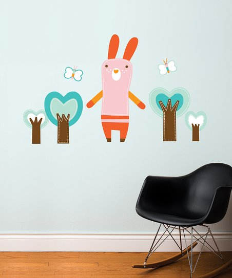 Mimi the Bunny Wall Decal