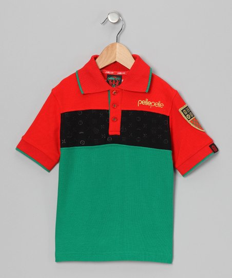 Red Park Ave Polo - Toddler & Boys