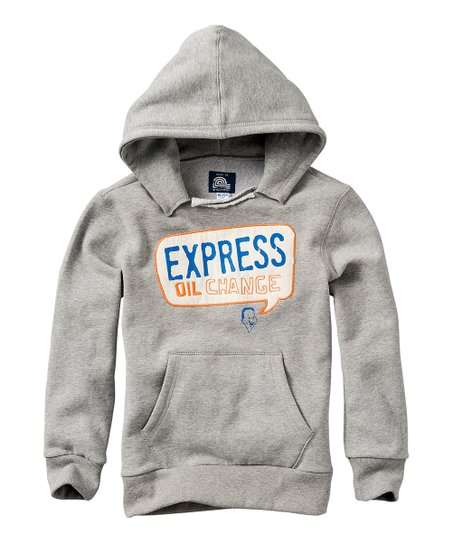 Gray Melee 'Express Oil Change' Hoodie