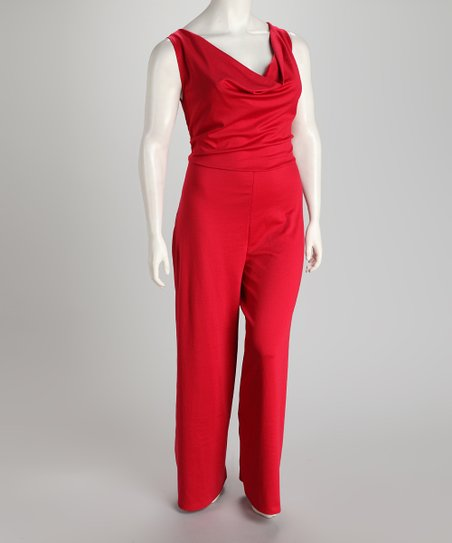 Jill Alexander Poppy Gwen Plus-Size Jumpsuit