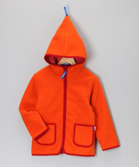 Orange Tonttu Jacket - Infant, Toddler & Kids