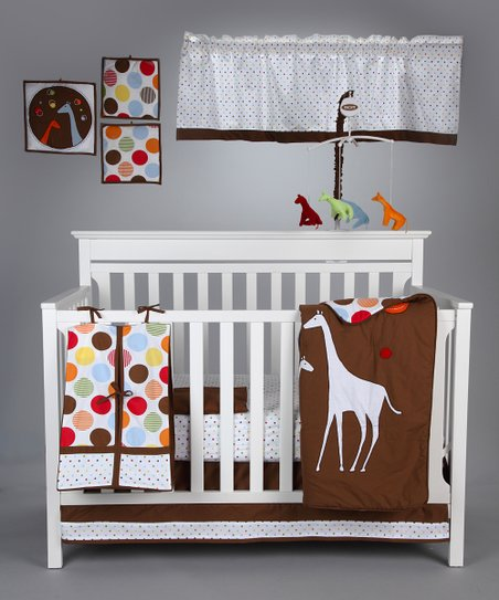 Baby & Me Crib Bedding Set