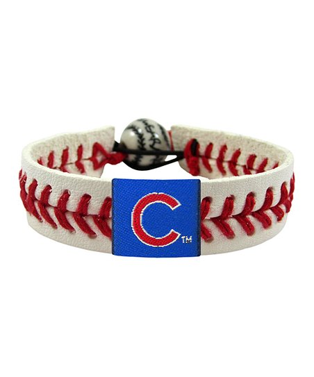 Chicago Cubs Classic Baseball Bracelet