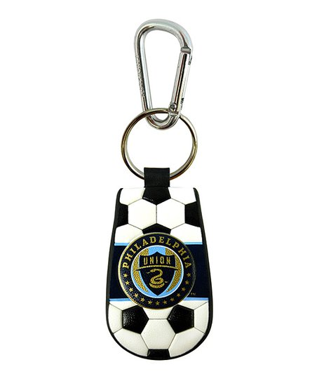 Philadelphia Union Leather Key Chain