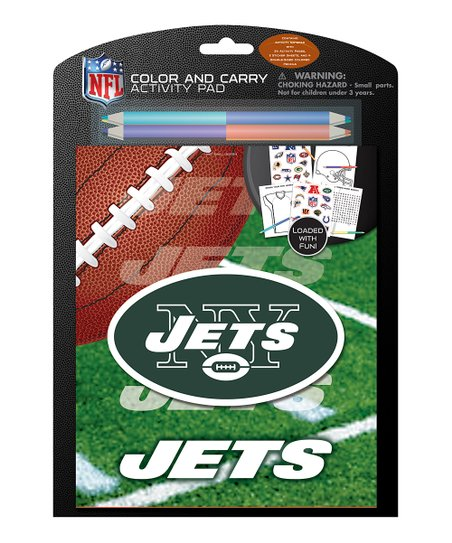 New York Jets Color & Carry Activity Set