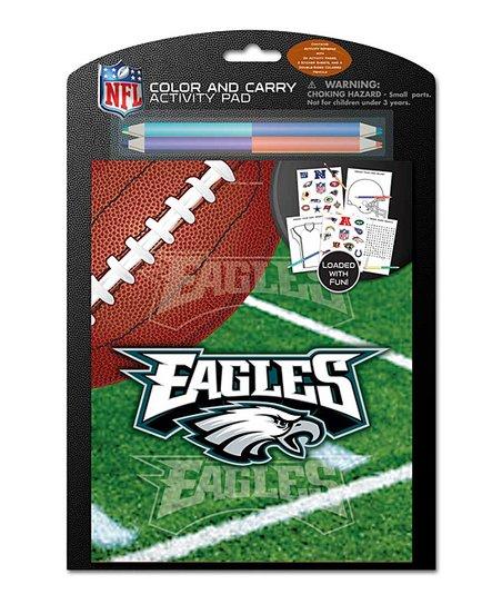 Philadelphia Eagles Color & Carry Activity Set