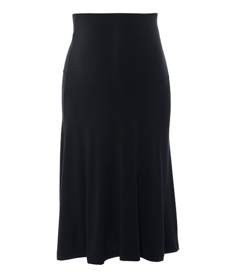 Black Clio Maternity Skirt