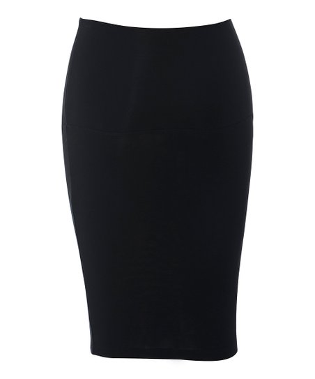 Black Nicoletta Maternity Skirt