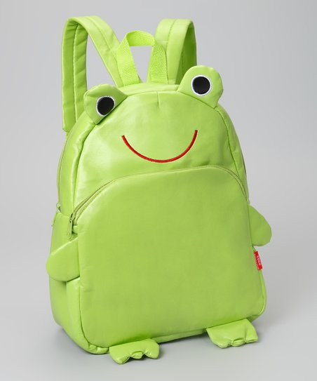Green Frog Backpack