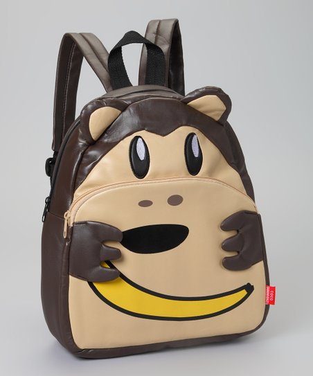 Brown Monkey Backpack