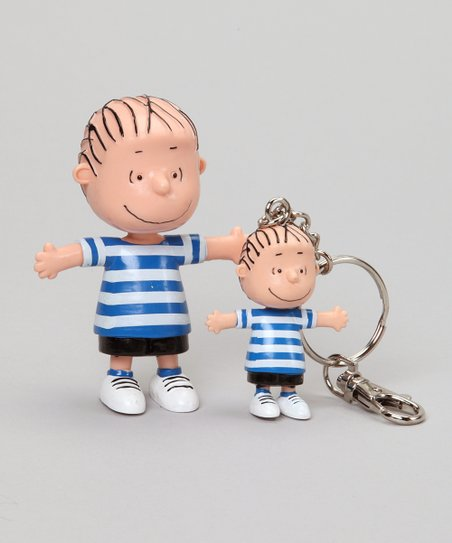 Linus van Pelt Bendable & Key Chain Set