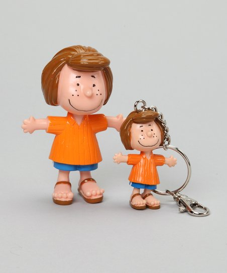 Peppermint Patty Bendable & Key Chain Set