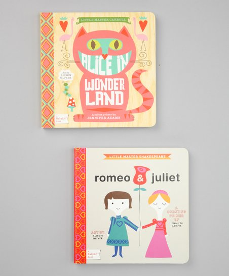 Alice in Wonderland & Romeo & Juliet Board Books
