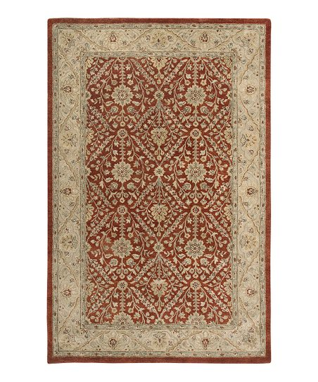 Red &amp; Gold Jaghuri Ghazni Rug